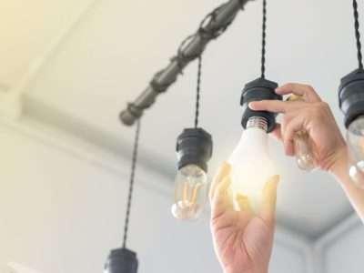 Electrical lighting repair
