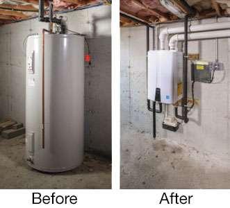 tankless water heater Broken Arrow 1